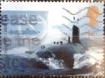 Stamps United Kingdom -  2245 - Submarino