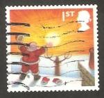 Stamps United Kingdom -  2595 - Navidad, Papa Noel