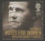 Sellos del Mundo : Europa : Reino_Unido :  3061 - Garrett Fawcett