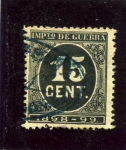 Stamps Spain -  Cifras