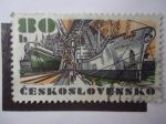 Sellos de Europa - Checoslovaquia -  Astillero.