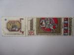 Stamps Czechoslovakia -  Día del Sello.
