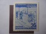 Stamps Germany -  VI Internacional de larga Distancia.