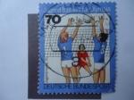 Stamps Germany -  Entrenamientos juveniles para los Juegois Olímpicos.