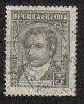 Stamps Argentina -  Mariano Moreno (1778-1811)