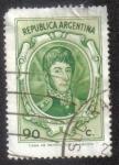 Sellos de America - Argentina -  José Francisco de San Martín (1778-1850)