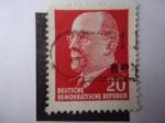 Sellos de Europa - Alemania -  Ptresidente,Walter Ulbricht - S/585.