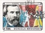 Sellos de Asia - Mongolia -  Giuseppe Verdi-