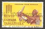 Sellos de Africa - Kenya -  122 - Campaña mundial contra el hambre