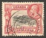 Stamps : Africa : Kenya :  Monte Kilimanjaro