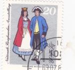 Sellos de Europa - Alemania -  trajes típicos