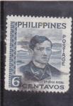 Sellos del Mundo : Asia : Filipinas : Dr. José Rizal