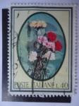 Sellos de Europa - Italia -  Flores - Poste Italiane -S/935.