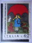 Sellos de Europa - Italia -  XXI Jornada del Sello.