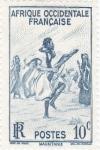 Stamps Senegal -  danza