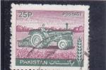 Sellos de Asia - Pakistán -  tractor