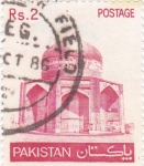 Stamps : Asia : Pakistan :  mausoleo