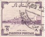 Sellos de Oceania - Pakistán -  fábrica de jute