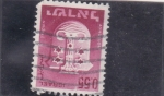 Stamps : Asia : Israel :  escudo
