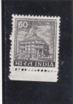 Stamps : Asia : India :  templo