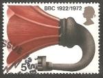 Sellos del Mundo : Europa : Reino_Unido :  666 - 50 Anivº de la BBC