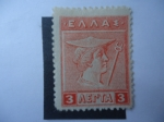 Sellos de Europa - Grecia -  Hermes -Serie:Hermes y Iris - Dioses y Mitología
