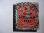 Stamps Venezuela -  EE.UU. de Venezuel-Simón Bolívar