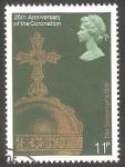 Sellos del Mundo : Europa : Reino_Unido :  866 - 25 Anivº de la coronación de su Majestad Elizabeth II