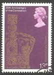 Sellos del Mundo : Europa : Reino_Unido :  867 - 25 Anivº de la coronación de su Majestad Elizabeth II