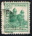 Stamps of the world : Spain :  DIPUTACION PROVINCIAL DE CADIZ