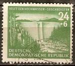 Sellos de Europa - Alemania -   Ayuda a las víctimas de las inundaciones(DDR).