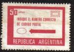 Sellos de America - Argentina -  Use número correcto código postal