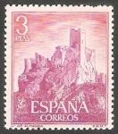 Sellos de Europa - España -  1745 - Castillo Almansa, Albacete