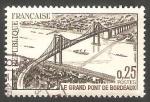 Sellos de Europa - Francia -  1524 - Inauguración del gran puente de Burdeos