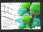 Sellos del Mundo : Europa : Finlandia : Bayas de Jardín
