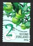 Sellos de Europa - Finlandia -  Frutas de Jardín
