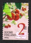 Sellos del Mundo : Europa : Finlandia : Frutas de Jardín