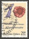Stamps ONU -  179 - X anivº del Centro de Viena