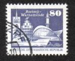 Sellos del Mundo : Europa : Alemania : Rostock-Warnemünde