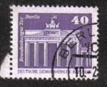 Sellos del Mundo : Europa : Alemania : La Puerta de Brandenburgo , Berlín