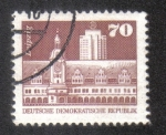 Sellos de Europa - Alemania -  Antiguo ayuntamiento, Leipzig