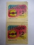 Stamps Ecuador -  Operación Amigo