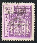 Stamps : Europe : Spain :  DIPUTACION PROVINCIAL HABERES