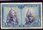Stamps Europe - Spain -  Pro Catacumbas de San Dámaso en Roma. Serie para Santiago de Compostela