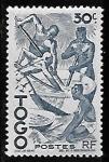Sellos del Mundo : Africa : Togo : Togo-cambio