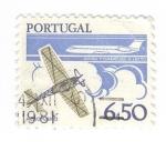 Sellos de Europa - Portugal -  Aeroplano-Avión comercial jet