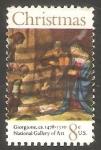 Stamps United States -  942 - Navidad