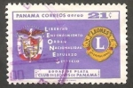Stamps : America : Panama :  231 - 25 anivº del Club de Leones de Panamá