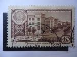 Sellos de Europa - Rusia -  Mari ASSR. Yoshkar-Ola, Sovetskaya Street - Capital de Republicas Socialistas Sovieticas Autónomas