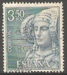 Sellos de Europa - España -   1937 - La Dama de Elche, Alicante